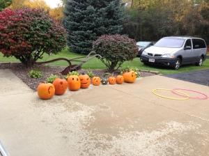 All the pumpkins