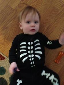 Skelton baby